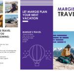Travel Brochure Regarding Travel Brochure Template For Students