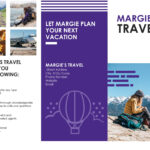 Travel Brochure regarding Word Travel Brochure Template