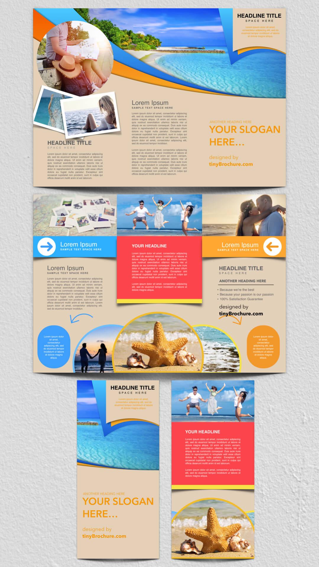 Travel Brochure Template Google Docs | Graphic Design Intended For Travel Brochure Template Google Docs