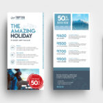 Travel Company Dl Card Template In Psd, Ai & Vector - Brandpacks with regard to Dl Card Template