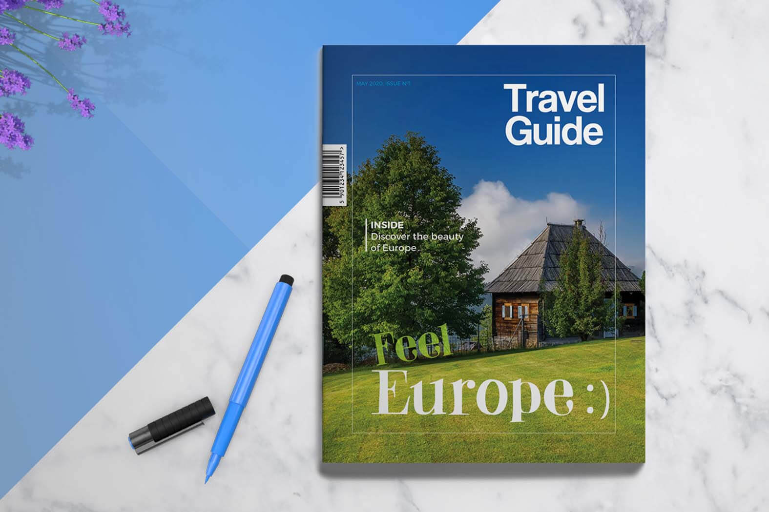 Travel Guide | Template 4 Print In Travel Guide Brochure Template