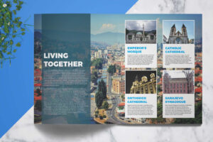 Travel Guide | Template 4 Print With Regard To Travel Guide Brochure Template