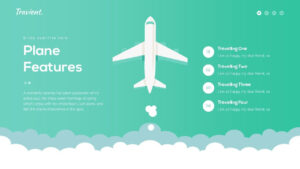 Travient Hotel & Travel Agency Powerpoint Template within Powerpoint Templates Tourism