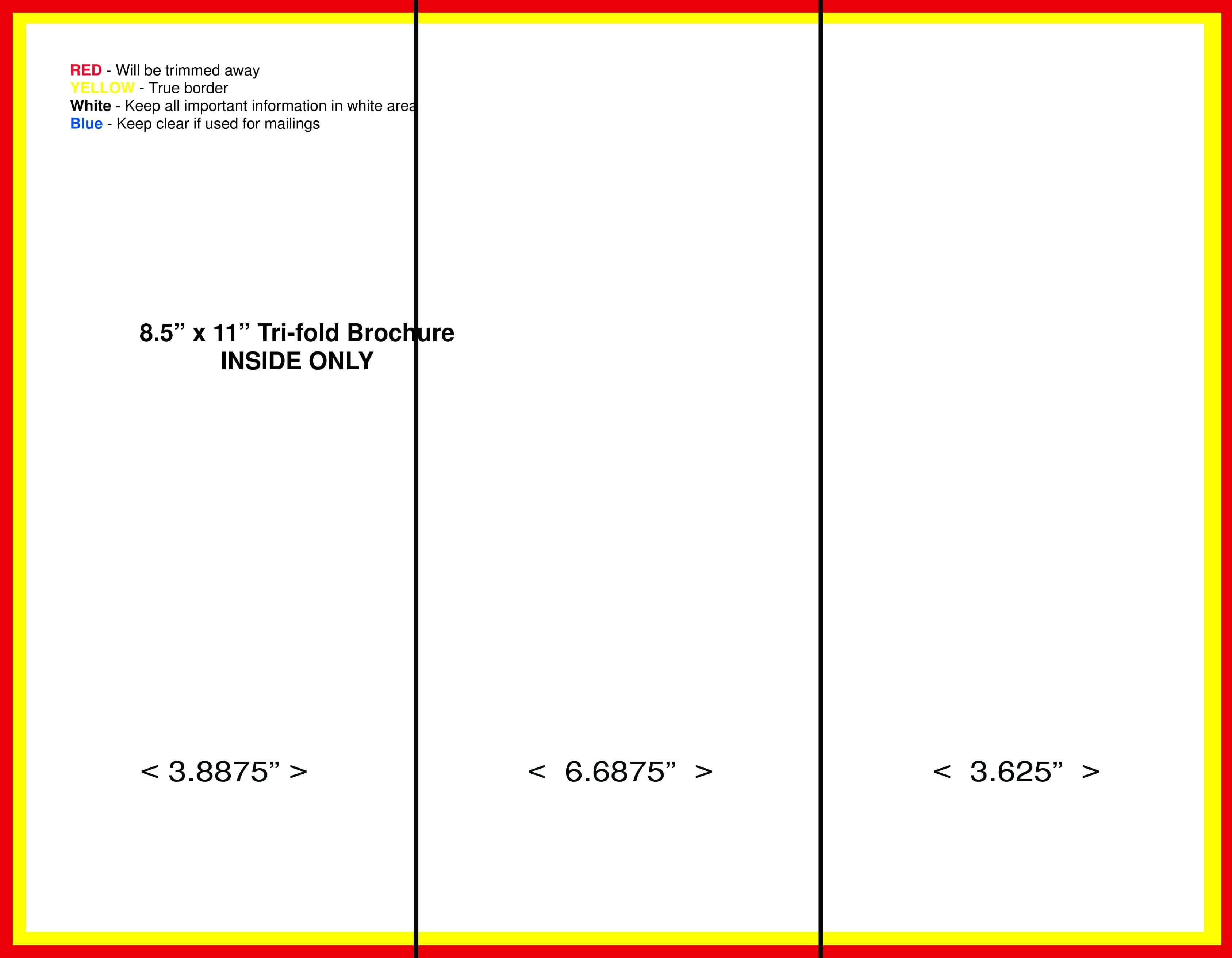 Tri Fold Brochure Creator - Hizir.kaptanband.co In Brochure Folding Templates