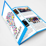 Tri Fold Brochure Design Layout | Adobe Illustrator (#speedart) Regarding Tri Fold Brochure Template Illustrator