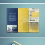 Tri Fold Brochure | Free Indesign Template for Tri Fold Brochure Template Indesign Free Download