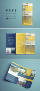 Tri Fold Brochure | Free Indesign Template throughout Adobe Tri Fold Brochure Template