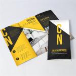 Tri Fold Brochure Printing | Uprinting In Pop Up Brochure Template