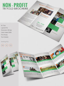 Tri Fold Brochure Template – 43+ Free Word, Pdf, Psd, Eps pertaining to 3 Fold Brochure Template Psd Free Download