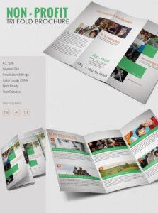 Tri Fold Brochure Template – 43+ Free Word, Pdf, Psd, Eps regarding 4 Fold Brochure Template Word