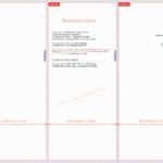 Tri Fold Brochure Template Illustrator Ten Lessons I've Regarding Tri Fold Brochure Template Illustrator