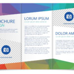 Tri Fold Brochure Vector Template – Download Free Vectors Intended For 3 Fold Brochure Template Free