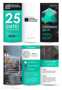 Tri Fold Business Brochure. Creative Corporate Business Template.. throughout Free Tri Fold Business Brochure Templates