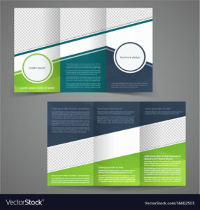 Tri-Fold Business Brochure Template Two-Sided with Free Tri Fold Business Brochure Templates