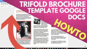 Trifold Brochure Template Google Docs throughout Google Docs Templates Brochure