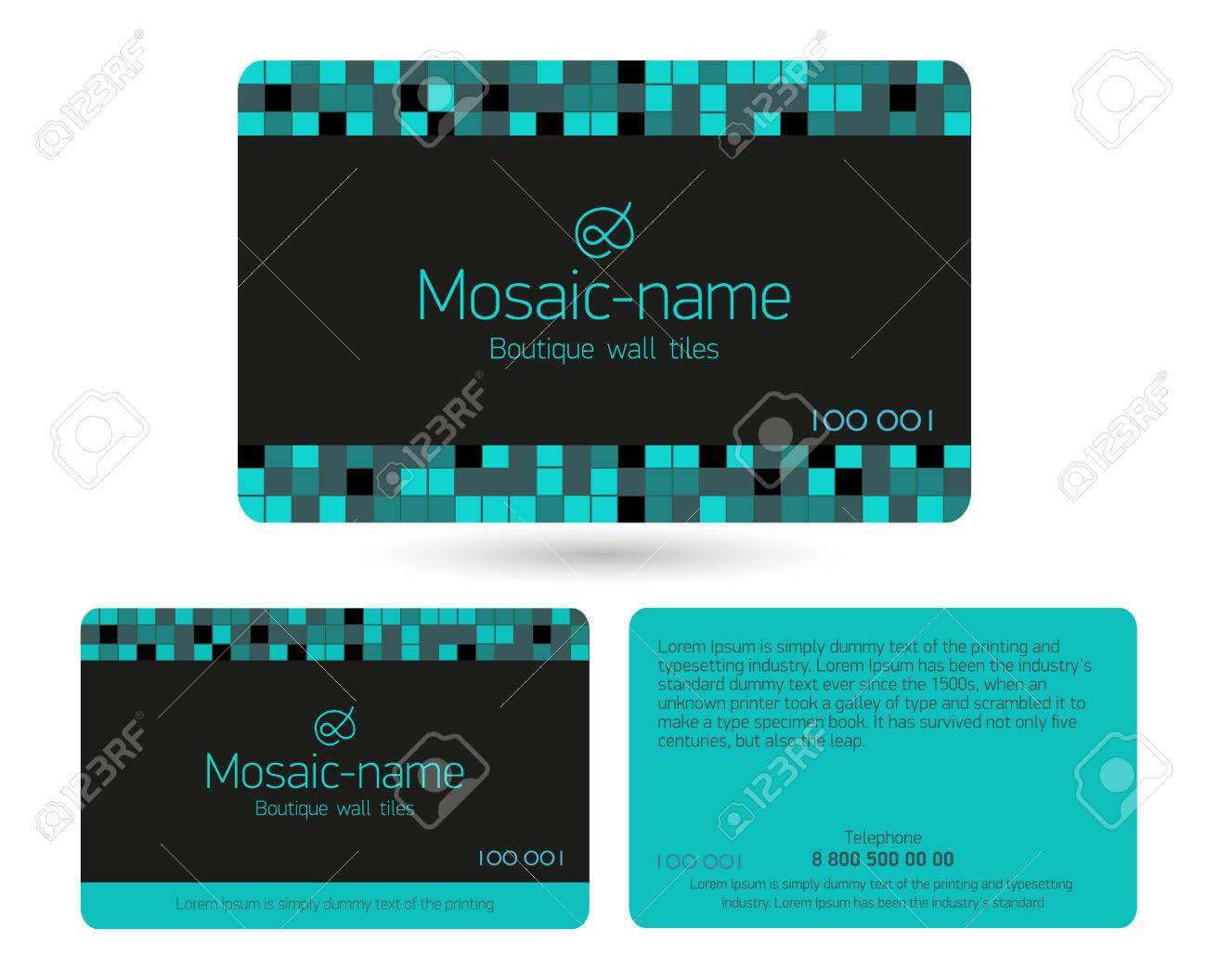 Turquoise Loyalty Card Design Template. Beautiful Gift Cards,.. Within Loyalty Card Design Template