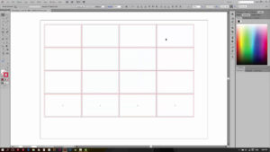 Tutorial Illustrator: Multiple Name Card Print Layout regarding Playing Card Template Illustrator
