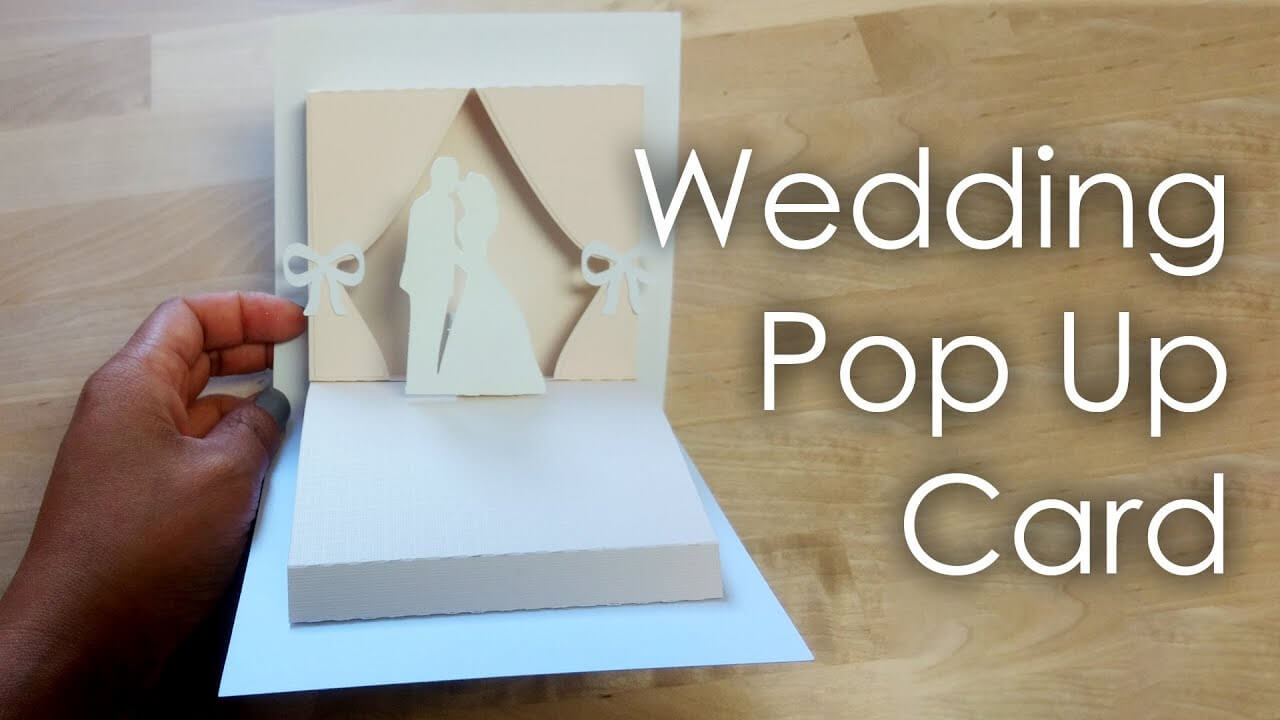 [Tutorial + Template] Diy Wedding Project Pop Up Card For Pop Up Wedding Card Template Free