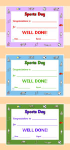 Twinkl Resources >> Editable Sports Day Award Certificates within Sports Day Certificate Templates Free