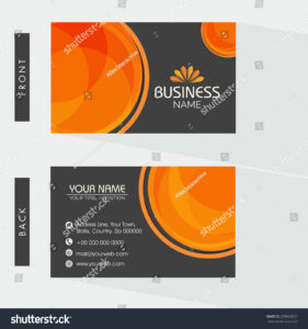 Two Sided Business Cards Word Double Professional Template intended for Staples Business Card Template Word