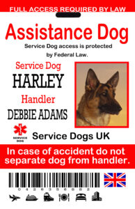 Uk Service Dog Id Tags : The Sewing Network inside Service Dog Certificate Template