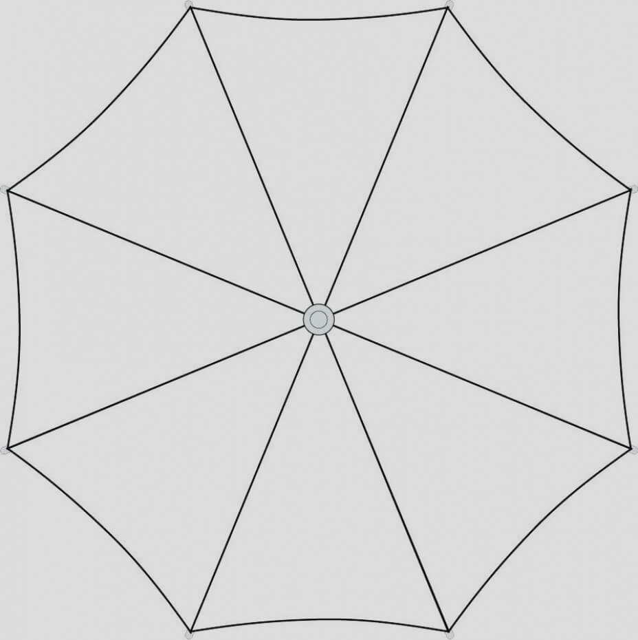 Umbrella Template Printable And Gallery Blank Umbrella With Blank Umbrella Template
