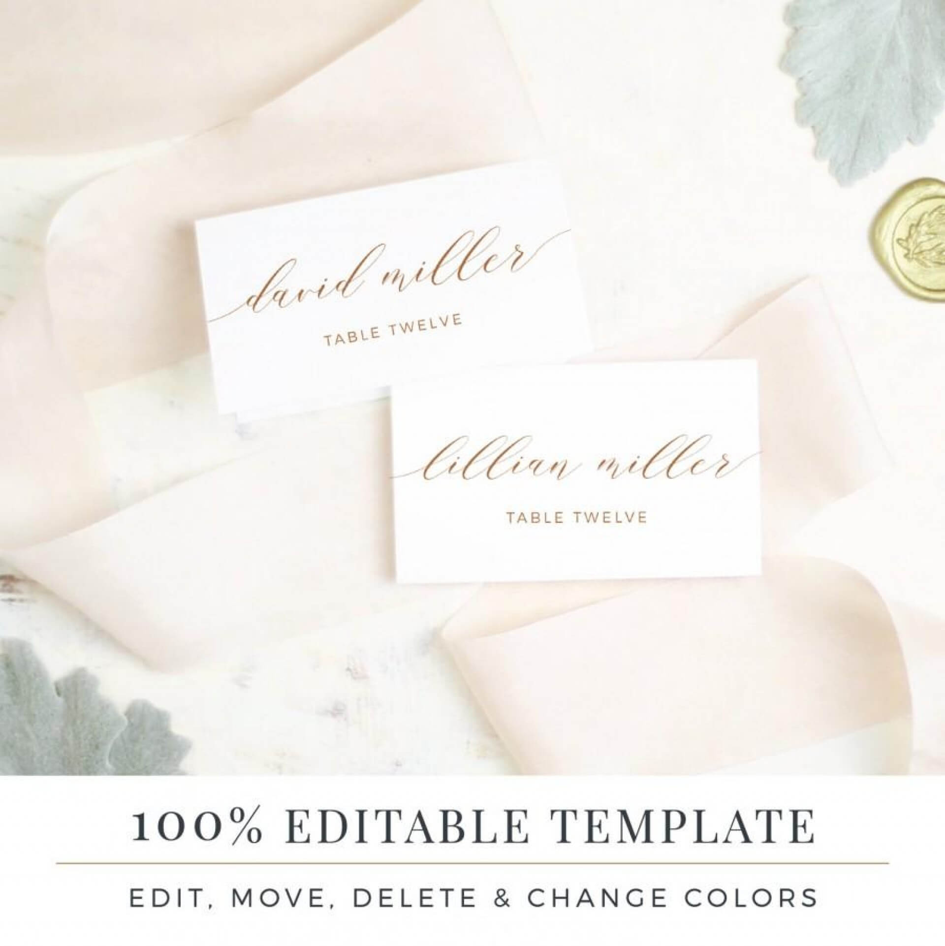 Unbelievable Printable Place Cards Template Ideas Christmas Within Michaels Place Card Template