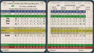 Understanding Your Golf Score Card Throughout Golf Score Cards Template