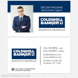 Unique Coldwell Banker Business Cards Merrill Corporation within Coldwell Banker Business Card Template
