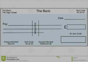 Unique Free Editable Cheque Template | Best Of Template in Blank Cheque Template Uk