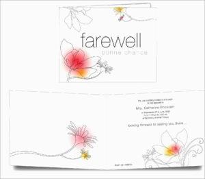 Unique Free Farewell Invitation Templates | Best Of Template with regard to Farewell Card Template Word