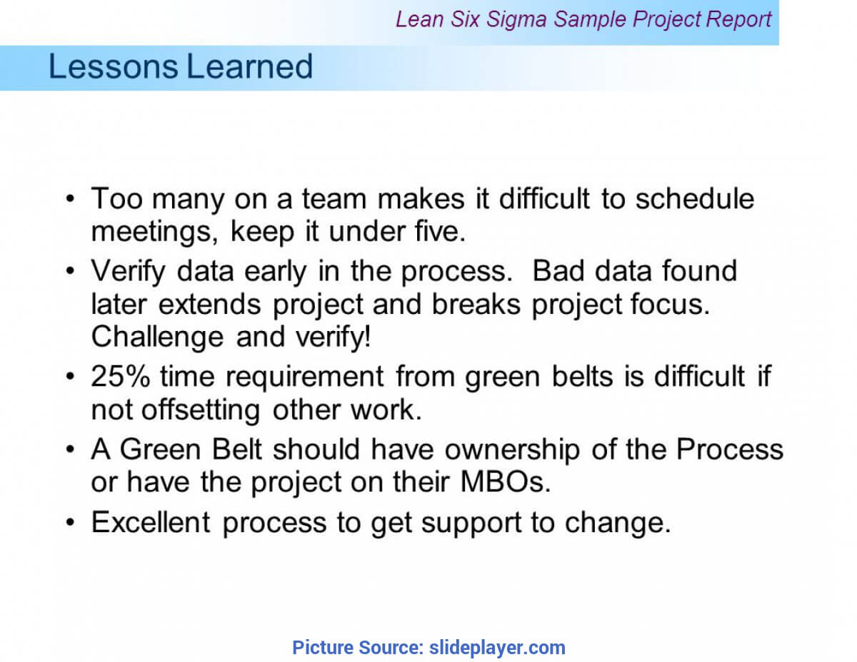 Unusual Project Closure Lessons Learned Examples Example Inside Project Closure Report Template Ppt