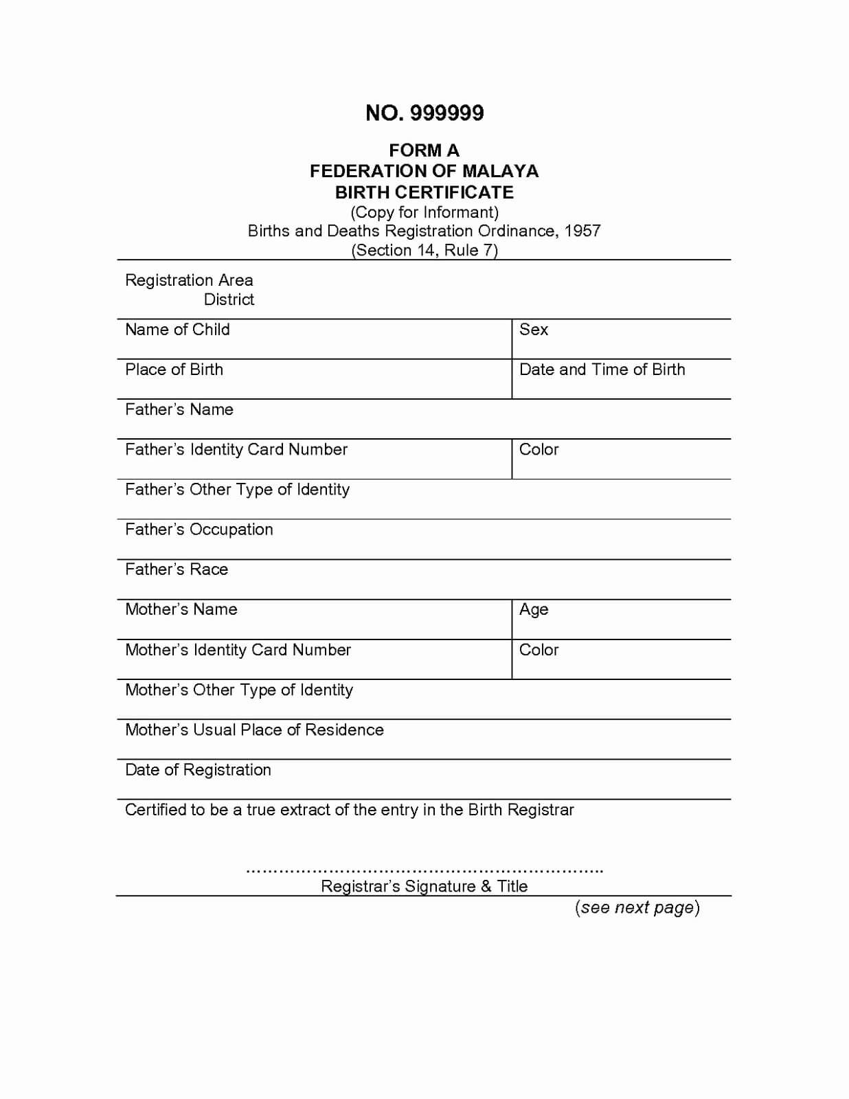 Uscis Marriage Certificate Requirements With Regard To Marriage Certificate Translation Template