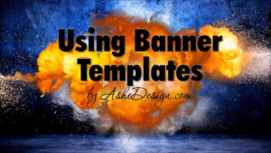 Using Ashe Design Sports Team Banner Templates for Sports Banner Templates