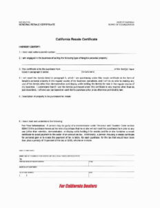 Utah Resale Certificate New Resale Certificate Request With Regard To Resale Certificate Request Letter Template