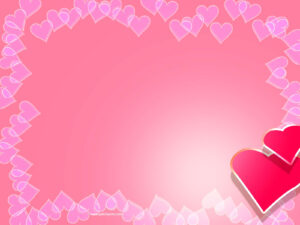 Valentine Backgrounds For Powerpoint – Border And Frame Ppt pertaining to Valentine Powerpoint Templates Free
