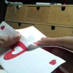 Valentine's Day Pop Up Card: Twisting Hearts Within Twisting Hearts Pop Up Card Template