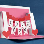 Valentine's Day Pop Up Templates – Do It Yourself Pop Up For Diy Pop Up Cards Templates