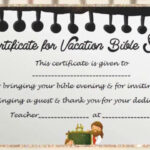 Vbs Certificate Template With Regard To Free Vbs Certificate Templates