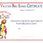 Vbs Certificate Templatesencephalos | Encephalos regarding Vbs Certificate Template