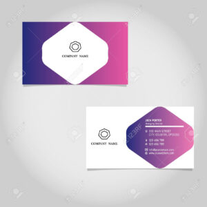 Vector Business Card Template Design Adobe Illustrator With Regard To Adobe Illustrator Business Card Template
