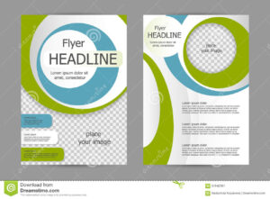Vector Flyer Template Design Stock Vector – Illustration Of with Training Brochure Template