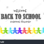 Vector School Banner Template Welcome Back Stock Vector With Welcome Banner Template