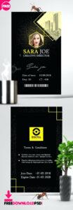 Vertical Id Card Template – Wovensheet.co regarding Personal Identification Card Template