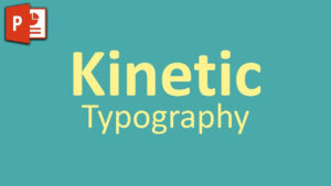 Very Simple Kinetic Typography In Powerpoint ✓ – Youtube Throughout Powerpoint Kinetic Typography Template