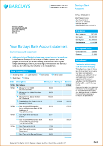 Viewing Gallery For – Bank Account Statement | I'd In 2019 regarding Credit Card Statement Template