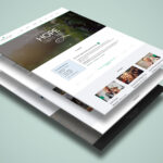 Vineyard Church – One Page Psd Template For Single Page Brochure Templates Psd