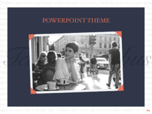 Vintage Album Powerpoint Template with regard to Powerpoint Photo Album Template