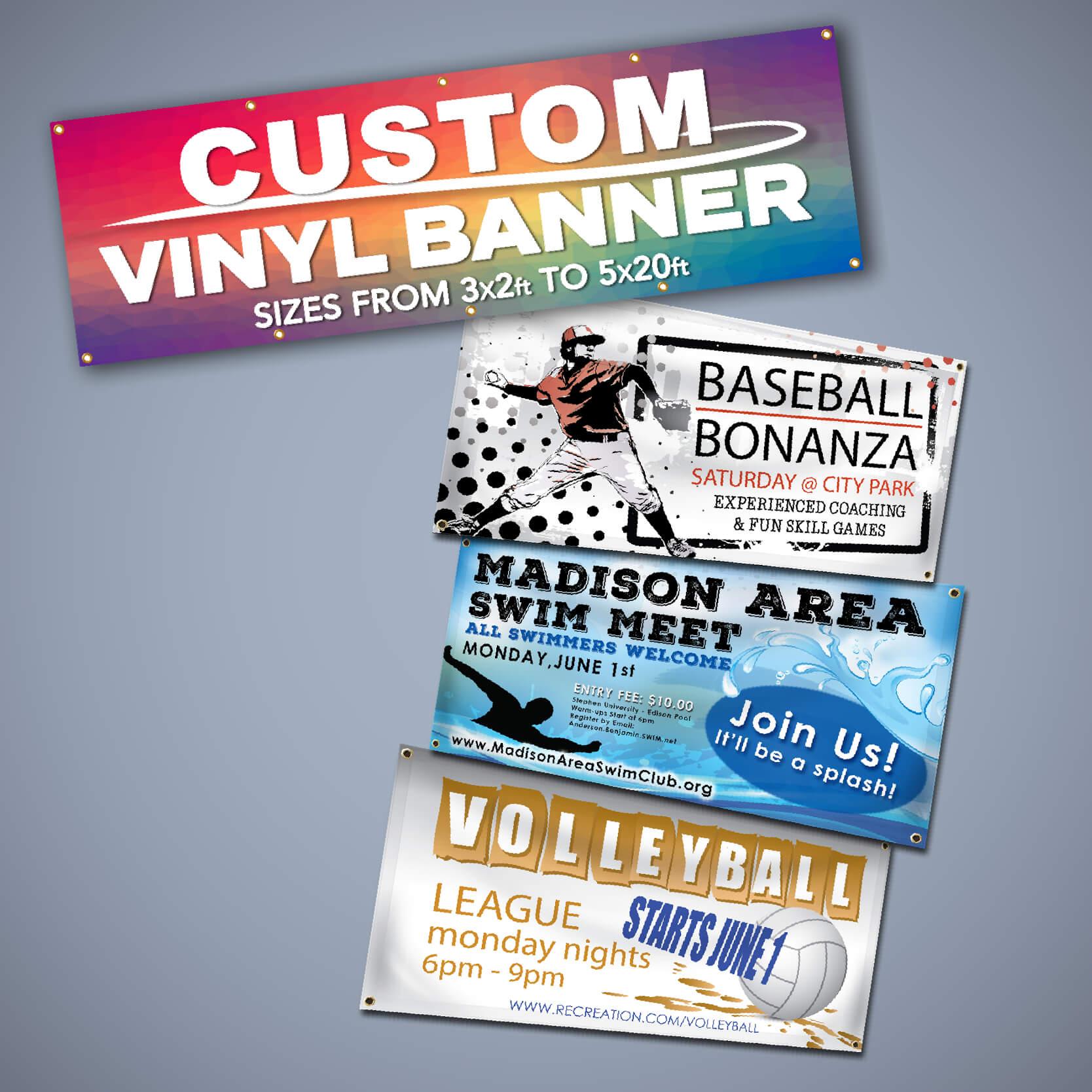 Vinyl Banners With Vinyl Banner Design Templates