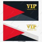 Vip Template Vector, Membership Card, Vip Card, Pvc Card Png Pertaining To Pvc Card Template